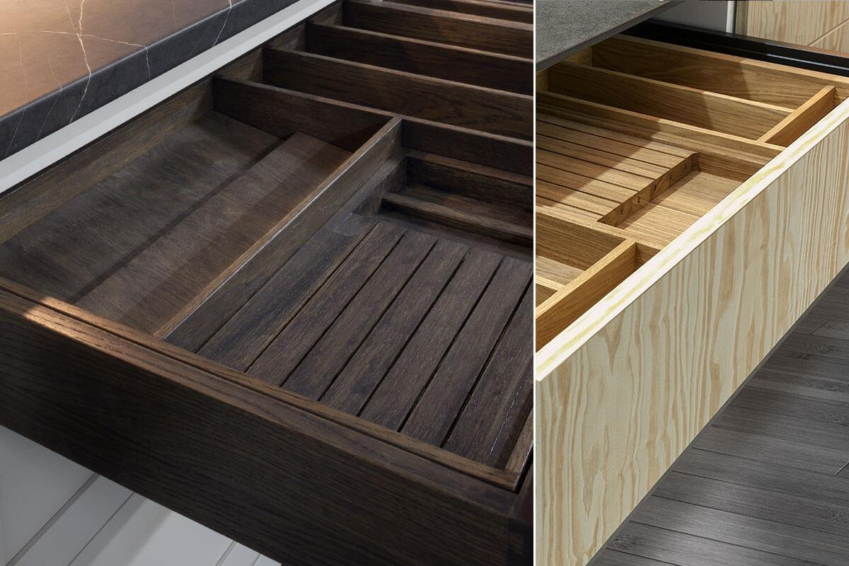 Ręcznie wykonane z litego drewna